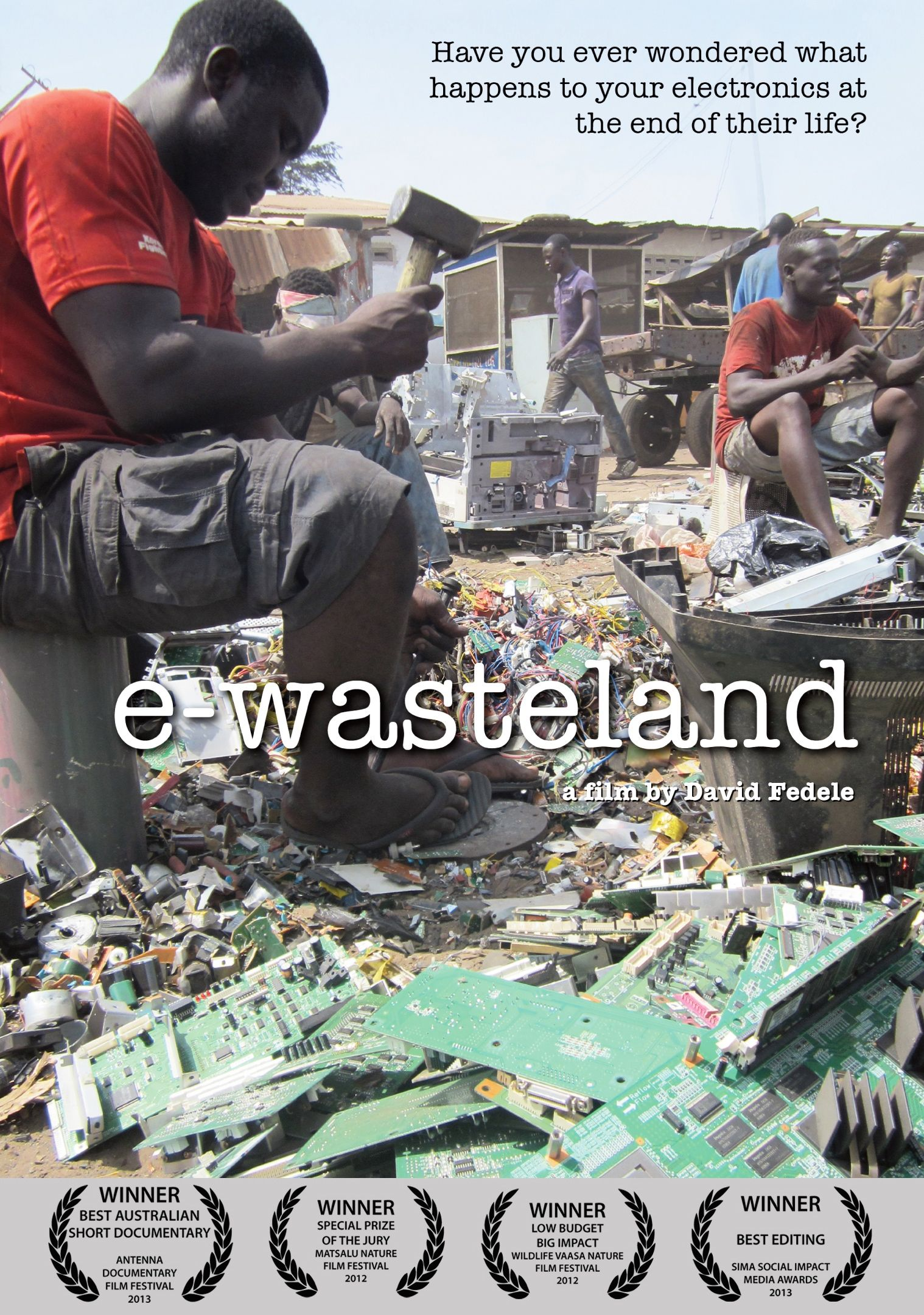 E-WASTELAND – DVD Front Cover
